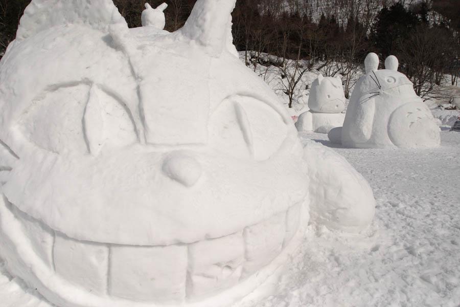雪像祭り�A