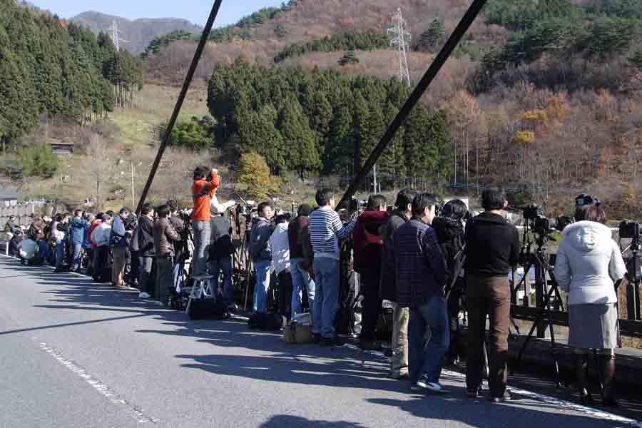 諏訪峡大橋 08年11月�B