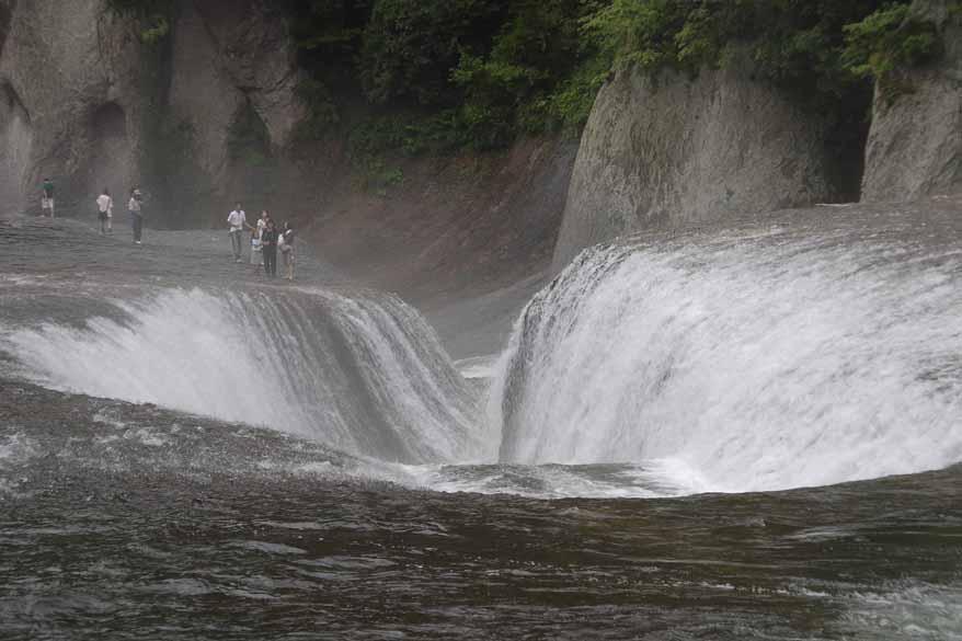 吹割の滝�A